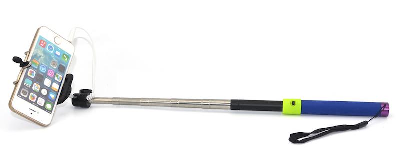 Монопод для селфи Cable Take Pole с кабелем - купить по выгодной цене в магазине Айдамаг. Цены, фото, отзывы, доставка по Москве