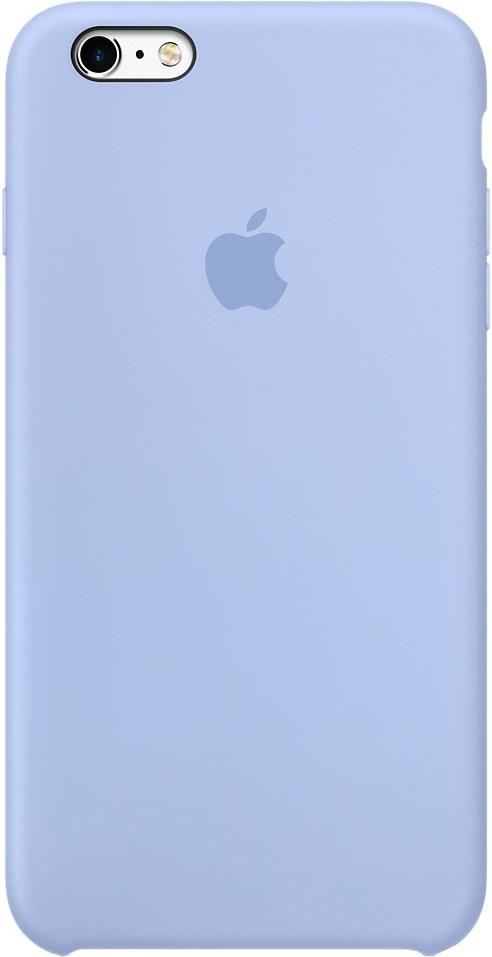 Оригинальный силиконовый чехол-накладка Apple для iPhone 6 6s Plus цвет  «васильковый» 6072b8037e24a