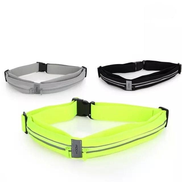 12f438033c06 Сумка поясная для спорта Rock Sports Waist Bag для смартфона универсальная  - фото 8234