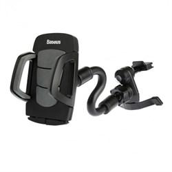 Автомобильный держатель Baseus Wind Pro Series для телефонов на воздуховод  - фото 10080