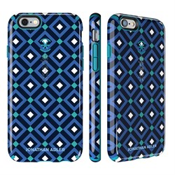 Чехол-накладка Speck CandyShell Inked для iPhone 6/6s - Jonathan Adler Edition Blue Gio/Peacock Blue - фото 10116