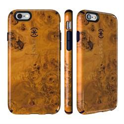 Чехол-накладка Speck CandyShell Inked для iPhone 6/6s - Jonathan Adler Edition Honeyed Burl/Berry Black Purple - фото 10118