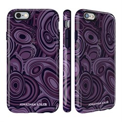 Чехол-накладка Speck CandyShell Inked для iPhone 6/6s - JONATHAN ADLER Edition MALACHITEPURPLE/BERRYBLACK GLOSSY - фото 10122