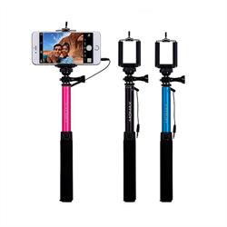 Монопод для селфи Momax Easy Selfie Pod с кабелем AUX 3.5 (KMS1C) - фото 10417
