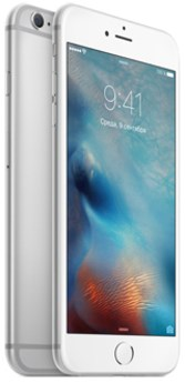 Apple iPhone 6s plus 16 Gb Silver (MKU12RU/A) - фото 11050