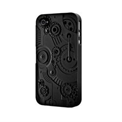 Чехол-накладка SwitchEasy Avant-garde Clockwork для iPhone 4/4S (SW-CW4S-BK) - фото 11750