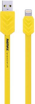 Кабель REMAX Lightning-USB Fishbone Series для iPhone/ iPad 100cм, прорезиненный  - фото 11912