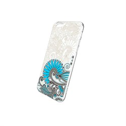 Чехол-накладка Hoco Super Star Series Painted силикон для Apple iPhone 6/6S (Thicket) - фото 12024