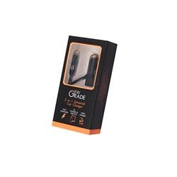 Автомобильный адаптер питания NewGrade АвтоЗУ Dual USB (3.4A) + кабель Lightning - MicroUSB  - фото 12034
