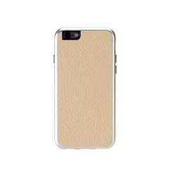 Чехол-накладка Just Mobile AluFrame Leather для iPhone 6/6s - фото 12097