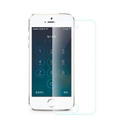 Защитное стекло Hoco Ghost series Transparent Glass filmset 0.25mm для iPhone SE/5/5S - фото 12134