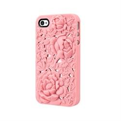 Чехол-накладка SwitchEasy Avant-garde Blossom для iPhone4/4S (SW-BLO4S-P) - фото 12187