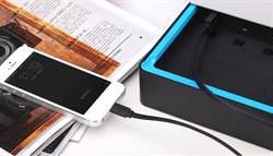 Кабель iHave Charge & Sync Lightning-USB Flat для iPhone/ iPad 90cм (ib0490) - фото 12832