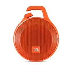 Портативная беспроводная колонка JBL Clip Plus Orange с Bluetooth (JBLCLIPPLUSORG) - фото 13024