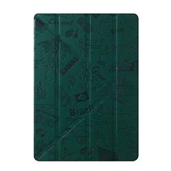 "Чехол-книжка Ozaki O!Coat Travel Rio de janeiro Multi-angel Сase для iPad 9.7"" (2017/2018)/ iPad Air (OC111RI) - фото 13330"