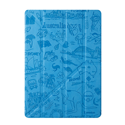 "Чехол-книжка Ozaki O!Coat Travel Sydney Multi-angel Сase для iPad 9.7"" (2017/2018)/ iPad Air (OC111SY) - фото 13358"