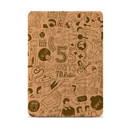 """Чехол-книжка Ozaki O!coat Relax   для iPad 9.7"""" (2017/2018)/ iPad Air  Хаки (OC113KH) - фото 13527"""