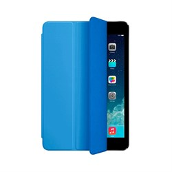 Чехол-обложка Apple Smart Cover для iPad Mini 2/3 Голубой (MF060ZM/A) - фото 14251