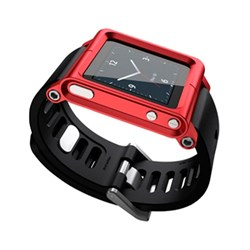 Ремешок Lunatik Multi-Touch Watch Band для iPod nano 6g (LTRED-004) - фото 14815