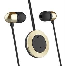 """Беспроводные стерео-наушники Rock Muo Bluetooth Earphone, цвет """"Золотой"""" (RAU0518)  - фото 15155"""