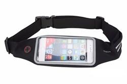 Сумка поясная для спорта Rock Universal Running Belt для смартфона (Цвет: Чёрный) - фото 15251