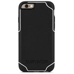 Чехол-накладка Griffin Survior Journey для iPhone 6/6s (Цвет: Чёрный/Белый) - фото 15293