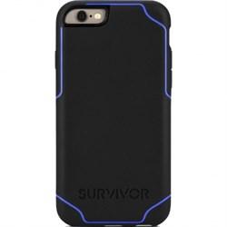 Чехол-накладка Griffin Survior Journey для iPhone 6/6s (Цвет: Чёрный/Синий) - фото 15297