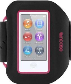 Спортивный чехол Incase Sport Armband Pro для iPod Nano 7 (Цвет: Чёрный-розовый) - фото 15327