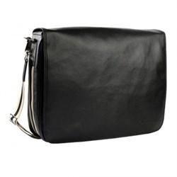 "Чехол-сумка Krusell Alvik для MacBook до 15.6"" (Цвет: Чёрный) - фото 15589"