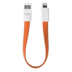 Кабель Remax Lightining Portable Cable 23 см (оранжевый) - фото 15853