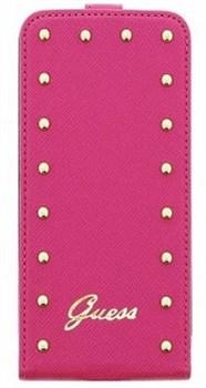 Чехол-флип Guess для iPhone 6/6s Studded Flip Pink (Цвет: Розовый) - фото 15864