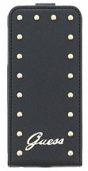 Чехол-флип Guess для iPhone 6/6s Studded Flip Black (Цвет: Чёрный) - фото 15868