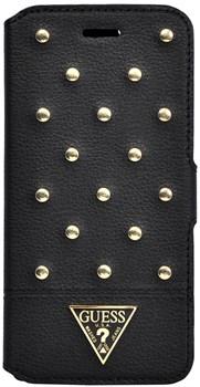 Чехол-книжка Guess для iPhone 6/6s plus Tessi Booktype Black (Цвет: Чёрный) - фото 15942