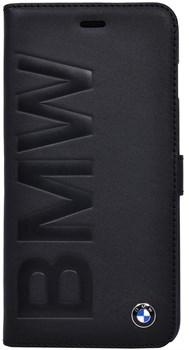 Чехол-книжка BMW для iPhone 6/6s plus Logo Signature Booktype Black (Цвет: Чёрный) - фото 16039