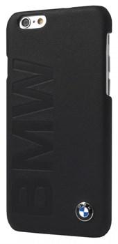 Чехол-накладка BMW для iPhone 6/6s plus Logo Signature Hard Black (Цвет: Чёрный) - фото 16060