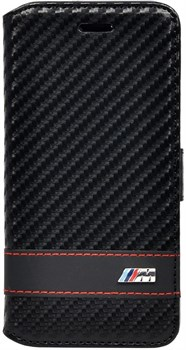 Чехол-книжка BMW для iPhone 6/6s plus M-collection Booktype Carbon Blk(Цвет: Чёрный) - фото 16070