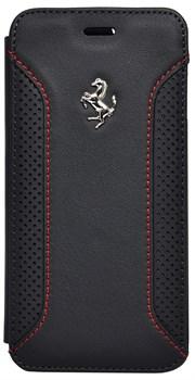 Чехол-книжка Ferrari для iPhone 6/6s F12 Booktype Black (Цвет: Чёрный) - фото 16106
