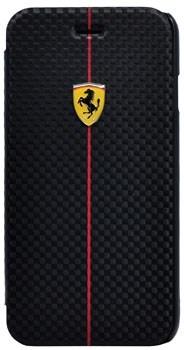 Чехол-книжка Ferrari для iPhone 6/6s Formula One Booktype Black (Цвет: Чёрный) - фото 16123