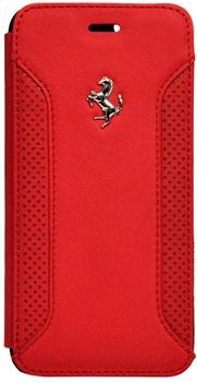 Чехол-книжка Ferrari для iPhone 6/6s Formula One Booktype Red (Цвет: Красный) - фото 16130