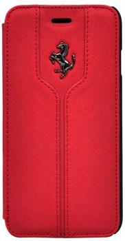 Чехол-книжка Ferrari для iPhone 6/6s Montecarlo Booktype Red (Цвет: Красный) - фото 16143