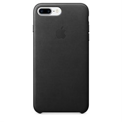 Оригинальный кожаный чехол-накладка Apple для iPhone 7 Plus/8 Plus, цвет «черный» (MMYJ2ZM/A) - фото 16382