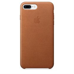 Оригинальный кожаный чехол-накладка Apple для iPhone 7 Plus/8 Plus, цвет «золотисто-коричневый» (MMYF2ZM/A) - фото 16425