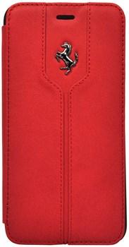 Чехол-книжка Ferrari для iPhone 6/6s plus Montecarlo Booktype Red (Цвет: Красный) - фото 16512