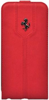Чехол-флип Ferrari для iPhone 6/6s plus Montecarlo Flip Red (Цвет: Красный) - фото 16528