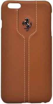 Чехол-накладка Ferrari для iPhone 6/6s plus Montecarlo Hard Camel (Цвет: Коричневый) - фото 16541