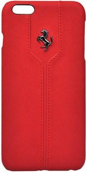 Чехол-накладка Ferrari для iPhone 6/6s plus Montecarlo Hard Red (Цвет: Красный) - фото 16547