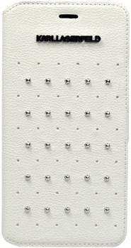 Чехол-книжка Karl Lagerfeld для iPhone 6/6s plus Trendy Booktype White (Цвет: Белый) - фото 16612