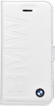 Чехол-книжка BMW для iPhone 5C Logo Signature Booktype (Цвет: Белый ) - фото 16647
