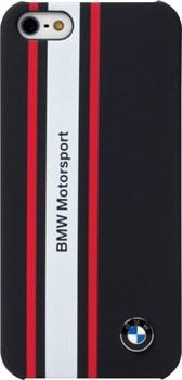 Чехол-накладка BMW для iPhone 5/5s Motosport Hard Rubber (Цвет: Синий) - фото 16653