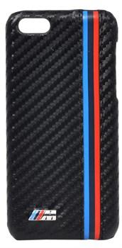 Чехол-накладка BMW для iPhone 6plus M-Collection Hard Alumin&Carb нат. карбон/алюминий (Цвет: Черный) - фото 16726